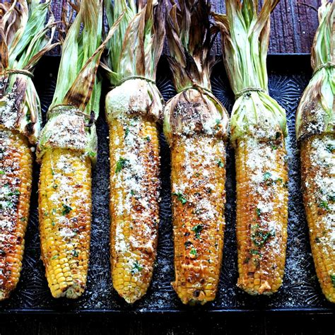 corn on the grill grilled corn simply sated