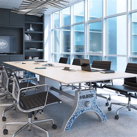 digital hure conference table vintage industrial furniture