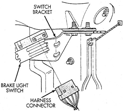 stop light switch autozone service manual how to install light switch 2002 chrysler