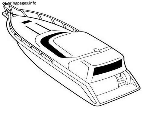speed boat coloring pages coloring pages  coloring