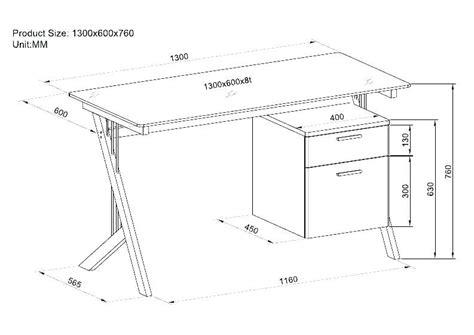 Office Desk Height standard office desk dimensions height of an office desk