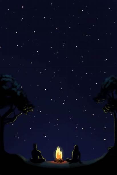Summer Stars Night Camp Nights Poop Sky