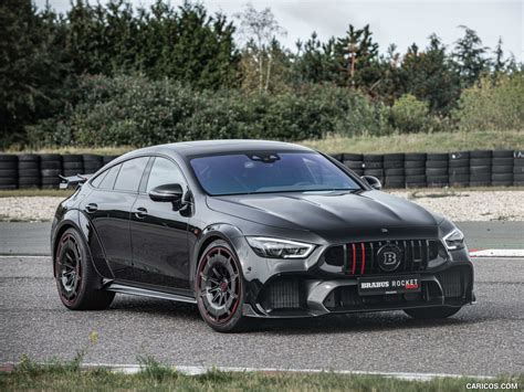 Well, what have we here? 2021 BRABUS ROCKET 900 ONE OF TEN based on Mercedes-AMG GT 63 S 4MATIC+ - Front Three-Quarter ...