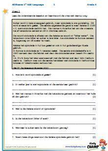 afr gr  images worksheets afrikaans grade