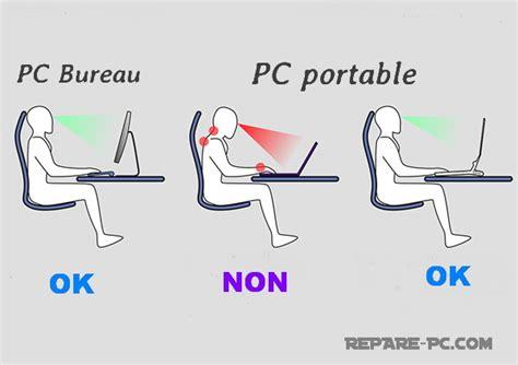 bonne posture au bureau conseils fatigue des yeux fatigue oculaire sur ordinateur pc