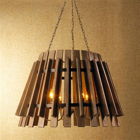 shades of light chandeliers wood slat industrial chandelier chandeliers by shades