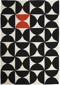 tapis alpha kilim 200 x 300 cm rouge noir blanc With tapis kilim avec canapé made in france
