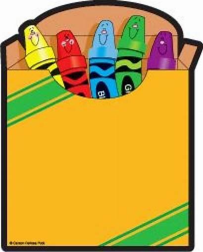Crayon Crayons Clip Clipart Box Cliparts Crayola