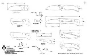 Folding Knife Designs Patterns Drawings