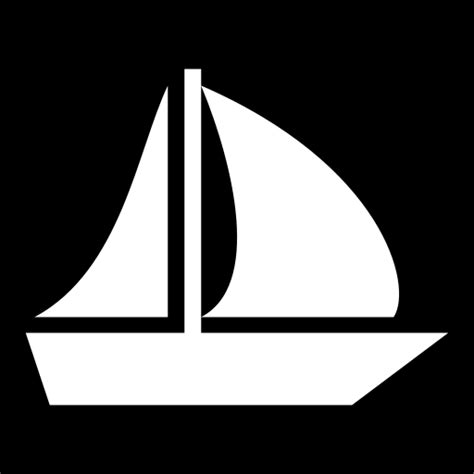 Boat Game Icon by Sailboat Icon Game Icons Net
