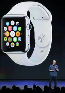 Apple share prices fall after Apple Watch announced during ...