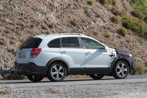 2015 Chevrolet Captiva / Opel Antara Facelift Spied