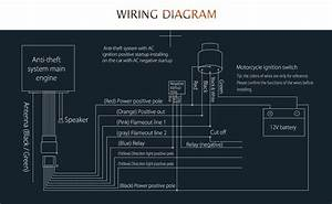 Wiring Diagram Of Motorcycle Alarm System