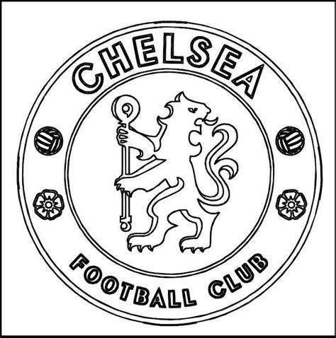 Kleurplaat Arsenal by Chelsea Football Club Coloring Line Sport Coloring