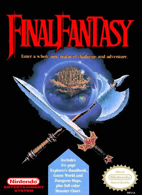 final fantasy box shot  nes gamefaqs