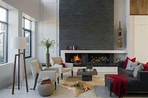 Grauer Boden Welche Wandfarbe : wohnzimmer grau in 55 beispielen erfahren wie das geht ~ Markanthonyermac.com Haus und Dekorationen