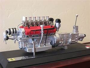 Mechanical Engineering  Ferrari Engine