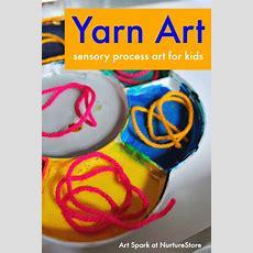 Yarn Painting Process Art For Kids Nurturestore