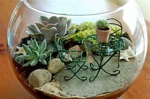 Terrarium Plante Deco : terrarium pour plantes tuto pour le faire et plus de 70 ~ Dode.kayakingforconservation.com Idées de Décoration