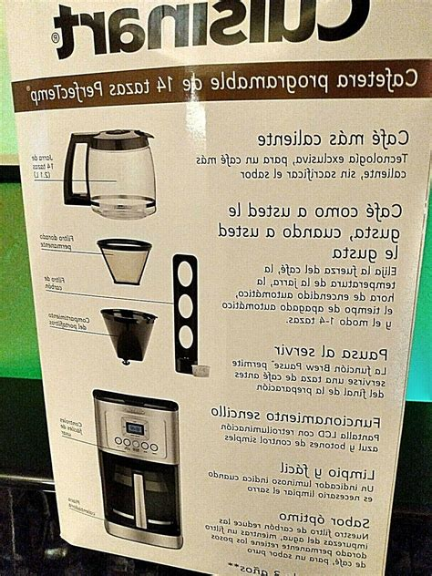 """Black model shown, also applicable to white. Cuisinart 14-Cup Coffee Maker DCC-3200 """"Perfectemp"""" GORGEOUS!"""
