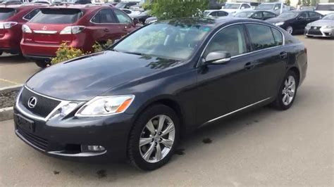 pre owned grey  lexus gs  awd ultra premim package