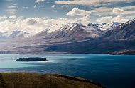 Lake South Island New Zealand