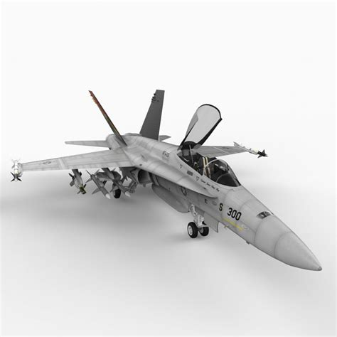 F-18 Hornet, Us Navy Stingers 3d Model