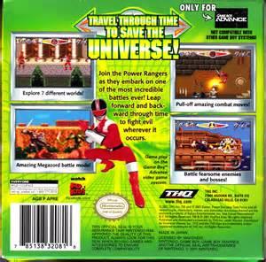 Power Rangers Time Force Game Boy Advance