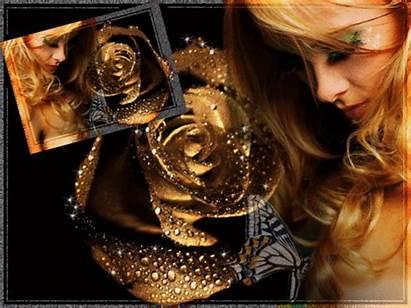 Femme Rose Romantique Belle Femmes Jolie Dreamies