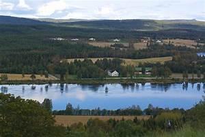 Vinger Map - Hedmark  Norway
