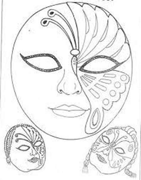 45 maszk sablon   Mask painting, Mask template, Mask drawing