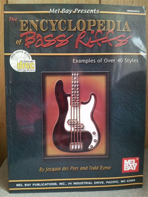 The Encyclopedia of Bass Riffs: Examples of Over 40 Styles ...