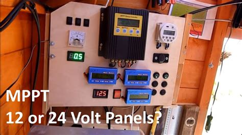 mppt    volt  solar shed youtube