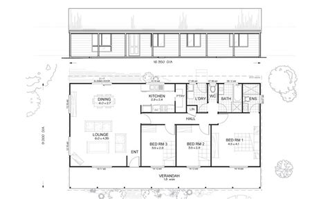 3 Bedroom Townhouse Plans Australia by Argyle 3 Met Kit Homes 3 Bedroom Steel Frame Kit Home