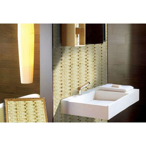 Bathroom Wall Tile Sheets by Painted Wavy Mosaic Tile Sheets Bathroom Wall Tiles