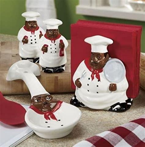 Black Chef Kitchen Decor by Decor American Guys Bistro Black Happy Chef 3