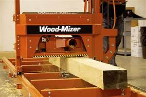 Wood-Mizer Portable Sawmills - MP100 Molder/Planer - YouTube
