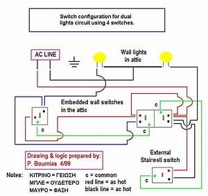 Switch Wiring Diagram  Electronics