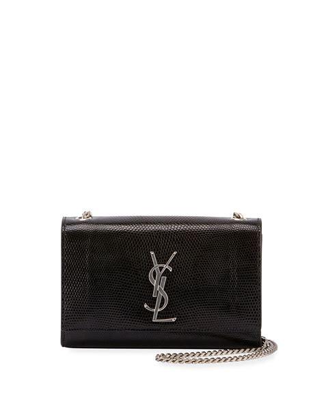 saint laurent kate monogram ysl small lizard chain shoulder bag neiman marcus