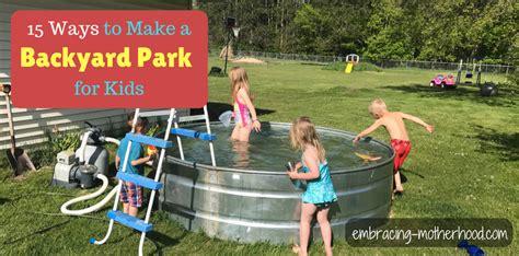 Backyard Ideas For Summer by Diy Backyard Ideas For Summer With Children