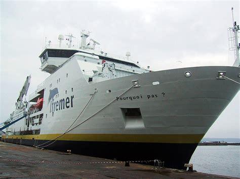 French Ship Pourquoi Pas? (2005) Wikipedia