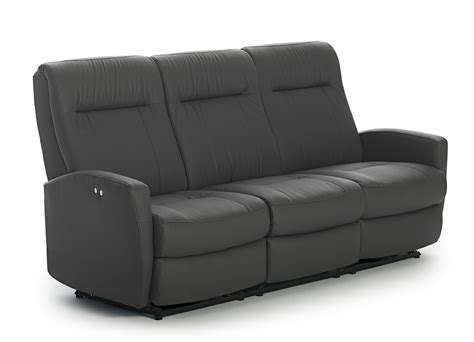 Contemporary Reclining Loveseat by Contemporary Space Saver Reclining Sofa By Best Home