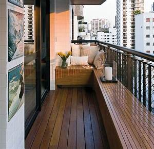 Pisos De Bancos : c mo decorar un balc n 25 ideas para balcones peque os ~ Watch28wear.com Haus und Dekorationen