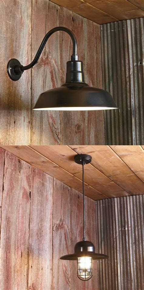 affordable barn lights add  comfortable farmhouse feel