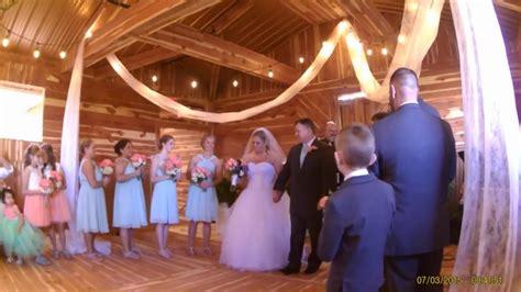 Tyler And Katie Smiths Wedding Ceremony Youtube
