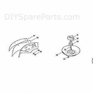 Stihl Fs 81 Brushcutter  Fs81  Parts Diagram  L