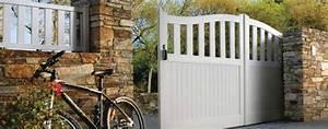 Portail 3 50m : portail coulissant en pvc avec portillon photo 9 20 ~ Premium-room.com Idées de Décoration