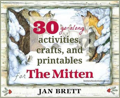 activities crafts  printables   mitten