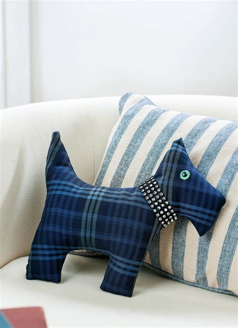 traditional tartan scottie dog  sewing patterns