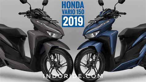 Honda Vario 150 2019 by Pilihan Warna Baru Honda Vario 150 2019 Biru Doff Dan